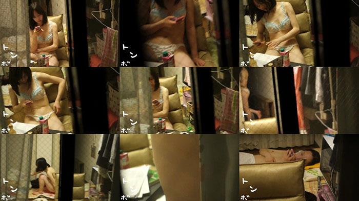 S級美女 現役JD部屋ヌード B子①-②
