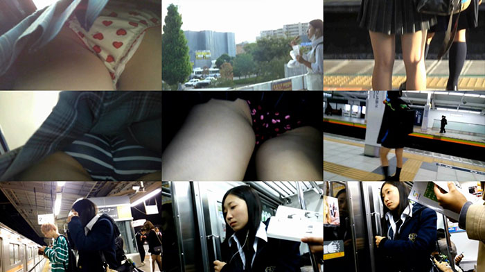 オウルさんの パンチラめくり撮り! Vol.06-09
