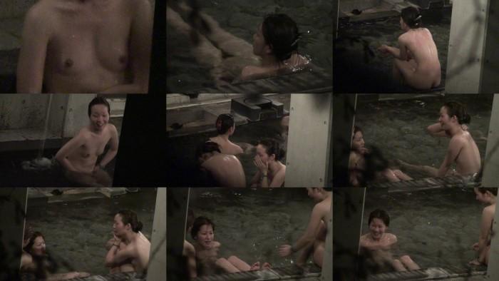 Aquaな露天風呂 Vol.387-398