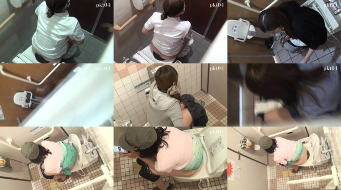 イケイケのトイレ特攻空撮!VIP動画 Vol.03-05