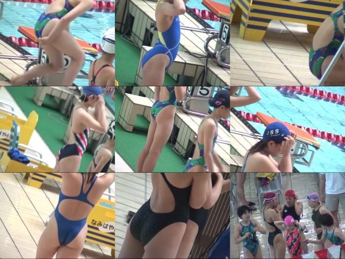 競泳水着レッドアイ Vol.3-4