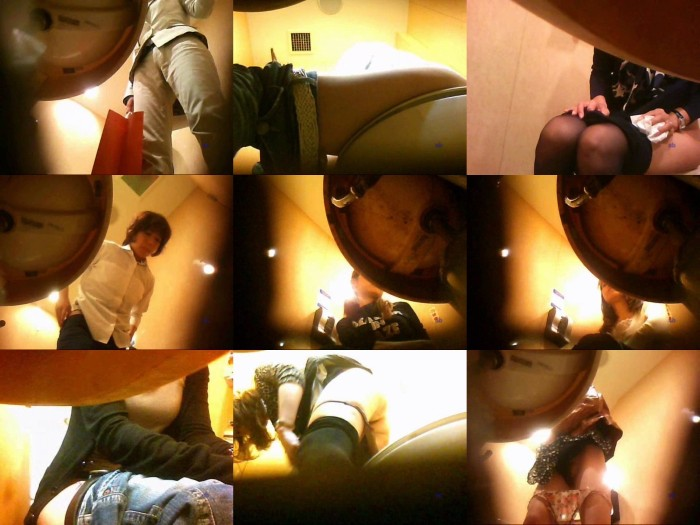 変態お兄さんの女子トイレ盗撮 Vol.001-005