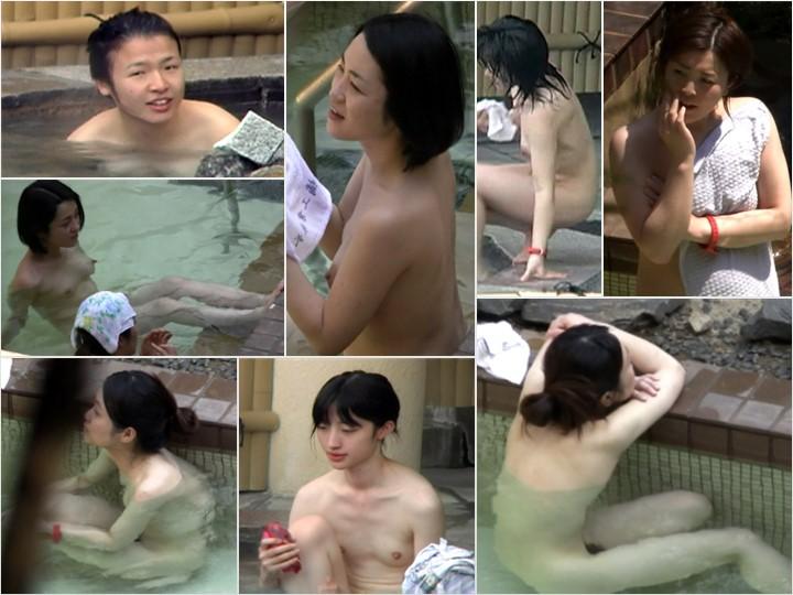 Aquaな露天風呂Vol.647-656