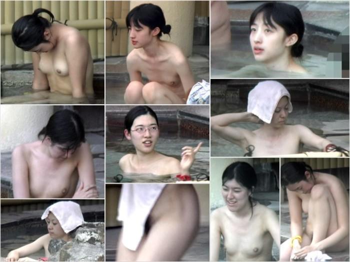 Aquaな露天風呂Vol.691-693