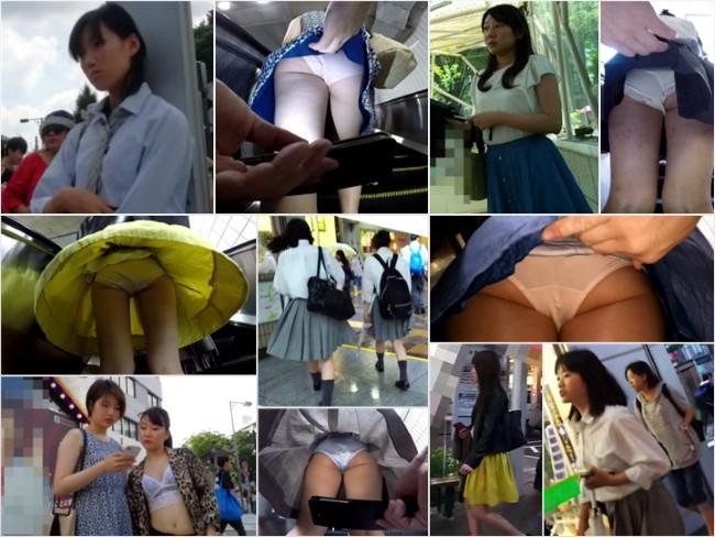 盗撮PPV動画 digi-tents upskirt 26