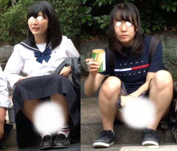 【Full HD】妄想vol.108「制服でリラックスしているところを…」