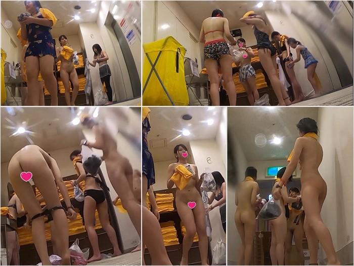 【実録、更衣室○撮 vol.23】~仲良しJK四人組 featuringエース級親子編~