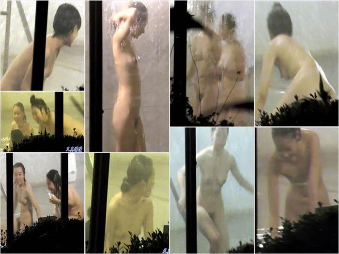 xiaowaiyucangpeep04 校外学習浴場盗撮 4本