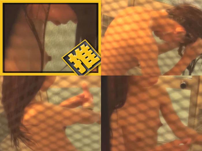 【しのび盗撮 禁断の民家浴室 2】ちっぱい剃毛お姉さん