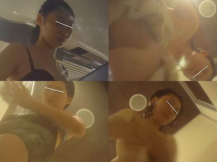 32で登場する美人の続きと顔はどう見てもSな子の豊満ボディー【幻 プール編 No.033】