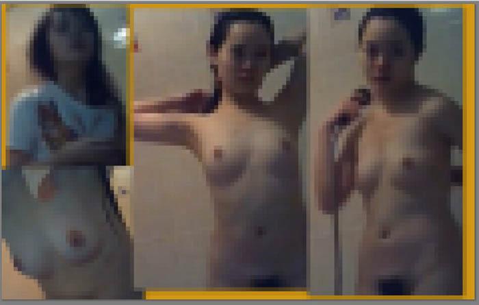 【家庭内盗撮】風呂場の Dカップいもうと 脱衣から風呂場まで 1606